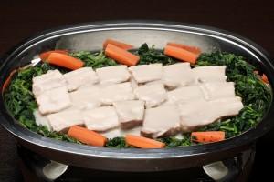 豚の角煮ホワイトソース(温料理)②